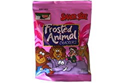 Keebler Frosted Animal Crackers Snack Size 8 - 2oz Packs