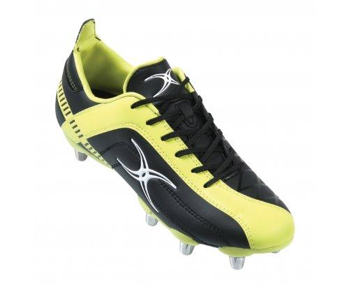 celera-zenon-sg-chaussures-de-rugby-noir-jaune-taille-13