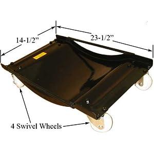 4 PCS Set Car Vehicle Tire Dolly Skate Swivel Wheels