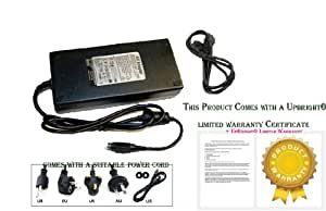 UpBright® NEW 4-Pin 12V AC Adapter For Goodmans LD2050FVT LCD TV Charger Power Supply Cord PSU