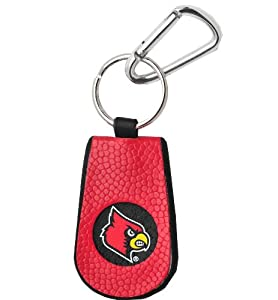 Buy Louisville Cardinals Team Color Basketball Keychain by GameWear