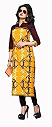 RR Fashion Women's Cotton KURTI (RRF3004_MULTICOLOUR)
