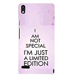 printtech A Limited Edition Back Case Cover for Huawei Acend P6::Huawei P6::Huawei Acend P6 Dual
