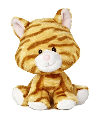 "Aurora World Wobbly Bobblee Cat Plush, 6"" Tall"