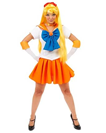Incogneato Sailor Moon Sailor Venus Teen Costume Teen