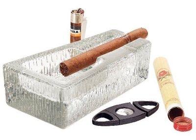 Libbey 1783682 Glass Cigar Ashtray - 6 / CS