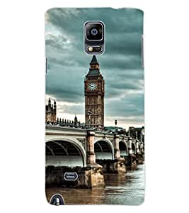ColourCraft Lovely View Design Back Case Cover for SAMSUNG GALAXY NOTE 4