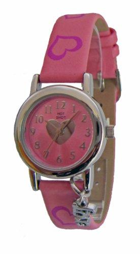 Hot Shot Girl Wristwatch - Analog Quartz, Pink - 949