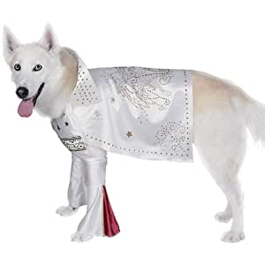 Elvis Superstar Dog Costume Size Medium