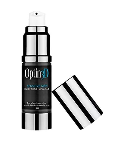Optin3D Crema Sensitive Men Ácido Hialurónico & Vitamina E 50 ml