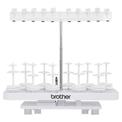 Brother SA561 10-Spool Thread Stand for VM6200D, VM5100, VQ3000, VQ2400, VE2200, Quattro 6000D, Quattro 2 6700D, Quattro 3 6750D (Brothers Quattro 6000d compare prices)