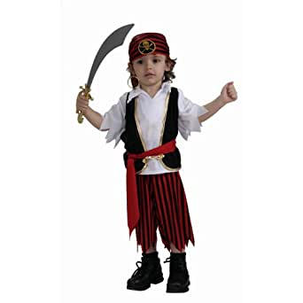 Amazon.com: Pirate Boy Toddler Costume: Childrens Costumes: Clothing