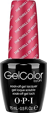 OPI Gel Nail Color, The Thrill of Brazil, .5 Ounce