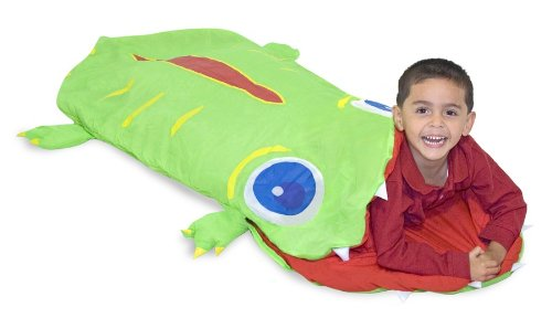 Melissa & Doug Sunny Patch Augie Alligator Sleeping