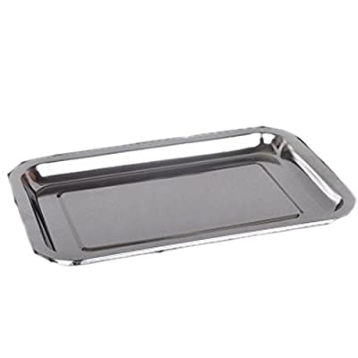 Loghot Stainless Steel Baking Sheet Thicken Deep Edge Superior Mirror Finish Bakeware Cookie Toaster Oven Pan