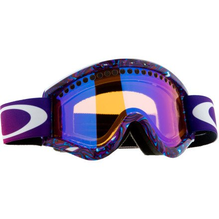 oakley elevate goggles 7xfx  Oakley Unisex Adult Elevate Rectangular Plutonite Snow Goggles Grenade  Purple, Light Grey