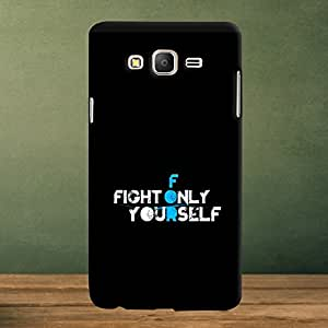 Krazzy Kollections Fight for Yourself Designer Back Case Cover for Samsung Galaxy On5