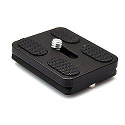 VONOTO Camera Quick Release Plate for Benro/Gitai KS-0 KS-1 KJ-0 KB-0 Ball Head QR-0B-0 J-0 Q1 PU-50 PU50