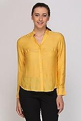 Kaaryah - Yellow Full Sleeves Shirt