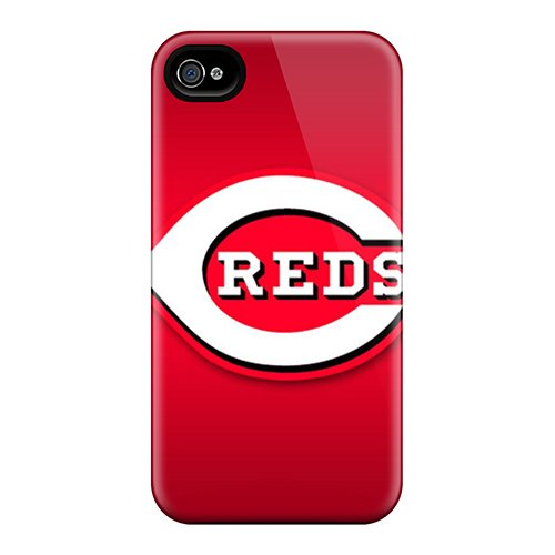 For Iphone 4/4S Fashion Design Cincinnati Reds Case-Qvl864Sbwh