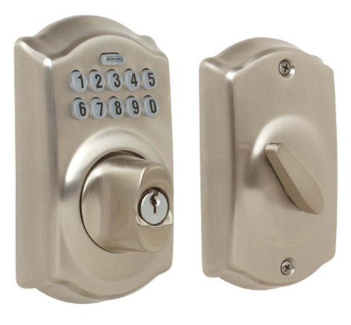 Schlage BE365VCAM619 Keypad Deadbolt