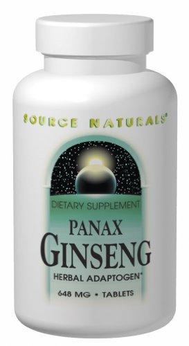 Source Naturals, Ginseng (Panax) 648mg, 250 Tablets