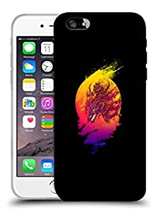 Snoogg Dragon Rider Designer Protective Back Case Cover For IPHONE 6 PLUS