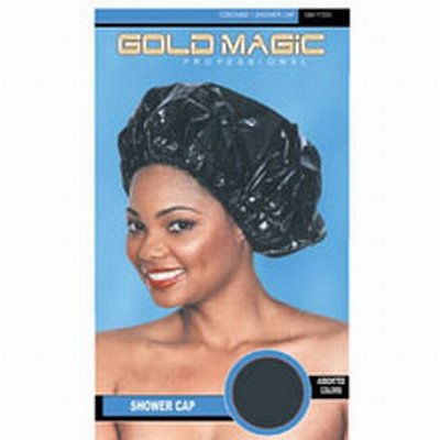 Gold Magic Shower Cap (Pack of 6)