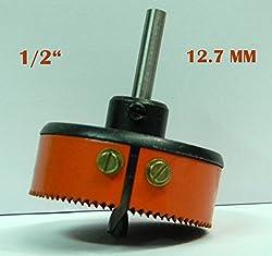 HSS METAL CUTTING HOLE SAW CUTTER (1/2) 12.7 MM - SHARP