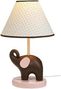 Pink Elephant Lamp Base And Shade