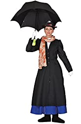 Tabi's Characters Women's Mary Poppins Costume