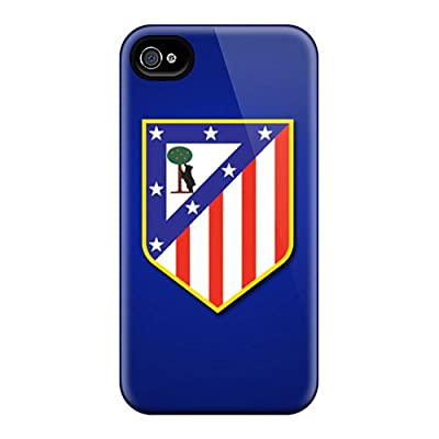 Tpu Case For Iphone 4/4s With Atletico De Madrid