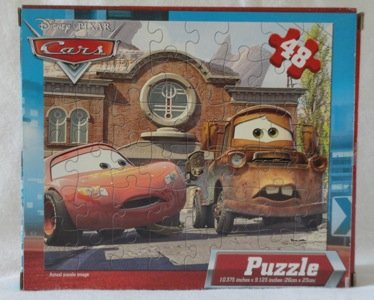 Cars: McQueen and Mater puzzle, 10.375 in.x9.125 in., 48 pieces