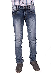 Gasconade Blue Slim Fitted Jeans - 34