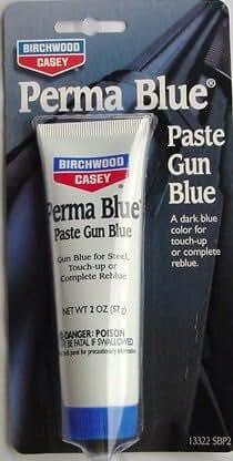 Perma Blue 【ペースト】チューブ入りガンブルー パーマブルー バーチウッド13322SBP2