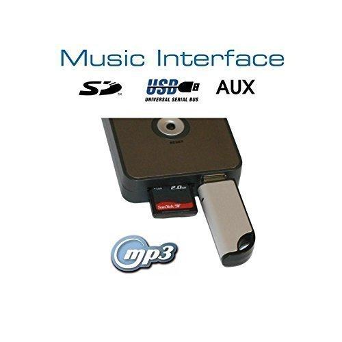 Digitales Music Interface mit USB, SD, AUX. Quadlock Version