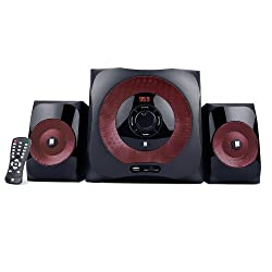 iBall Lion BT K9 2.1 Channel Bluetooth Speakers (Red)