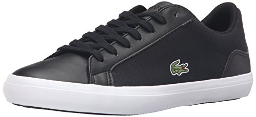 Lacoste Men's Lerond 316 1 Fashion Sneaker, Spm Black, 10.5 M US
