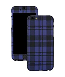 Robobull SmartKase 360° for iPhone 6 Plus/ 6S Plus (Checkered Blue)