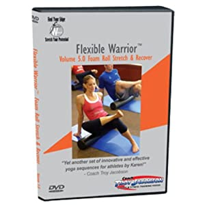 Flexible Warrior 5.0 Foam Roll Stretch & Recover DVD by Spinervals