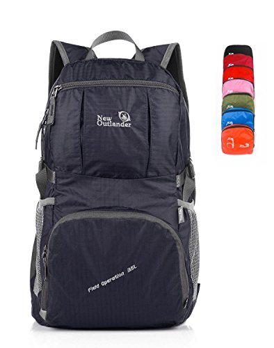 LARGE35L-Outlander-Packable-Lightweight-Travel-Hiking-Backpack-Daypack