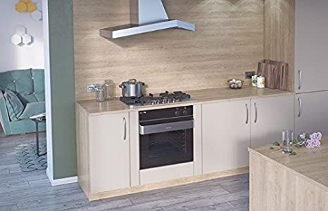 Egger Square Edge Sand Gladstone Oak Wood Effect Kitchen Bathroom Laminate Worktop Offcut Work Surface 38mm Breakfast Bar - 3m x 650mm x 38mm Worktop