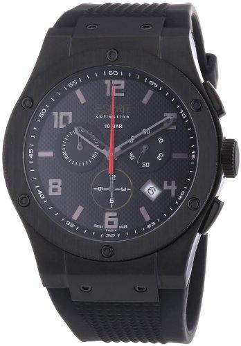 Esprit Collection - Reloj para caballero de caucho negro