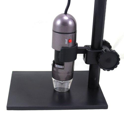 Leexgroup® Brand New Black 600X Usb Digital Microscope + Holder 8-Led Endoscope With Measurement Software Usb Microscope