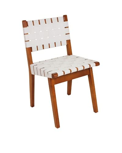 Stilnovo Arvid Side Chair, White/Wood