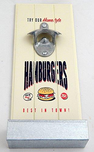 flaschen ffner zum aufh ngen hamburgers k hlschrankmagnet tinas collection das etwas. Black Bedroom Furniture Sets. Home Design Ideas
