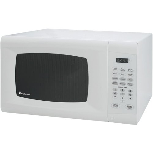 1 - .9 Cubic-Ft, 900-Watt Microwave With Digital Touch (White), .9 Cu Ft Capacity, 900W, Mcm990W