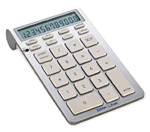 SMK-Link VP6273 Bluetooth Calculator Keypad for Mac & PC