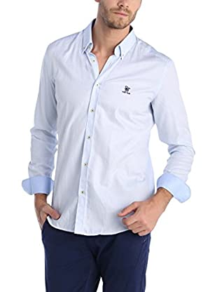 SIR RAYMOND TAILOR Camisa Hombre (Azul Claro)