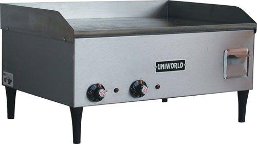 Uniworld (Ugr-3E) Dual Commercial Electric Griddle 25 Inch